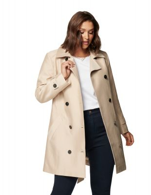 Forever New Dennie Curve Structured Trench