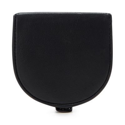 1778 Black Leather Coin Purse
