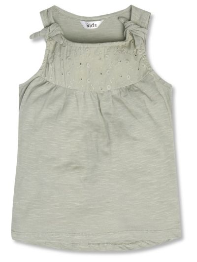 Mandco Broiderie Top (9mths-5yrs)