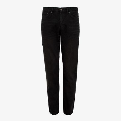 Maine New England Black Washed Straight Leg Jeans