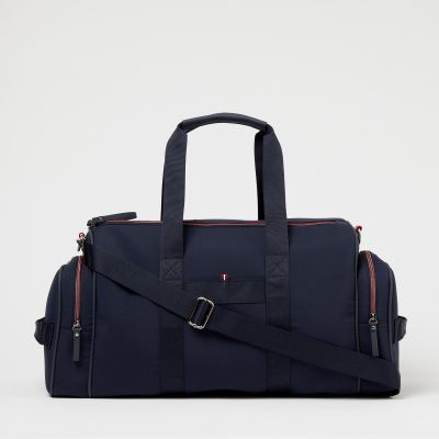 Maine New England Navy Travel Weekend Bag