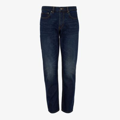 Maine New England Blue Denim Straight Fit Jeans