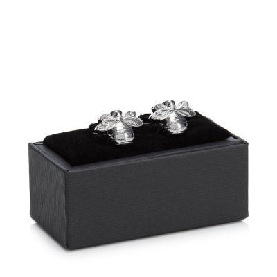 The Collection Silver Bee Cufflinks