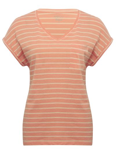 Mandco TOP SS RELAXED VNK STRIPE
