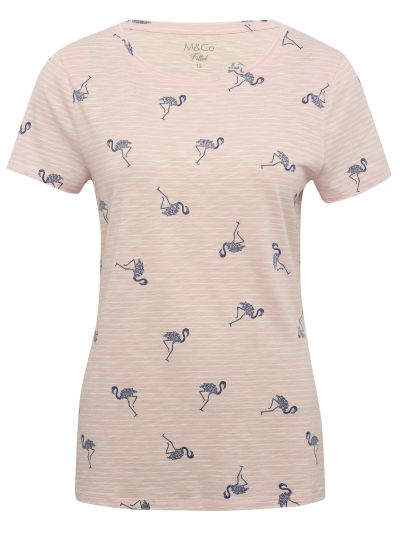 Mandco TOP SS FITTED FLAMINGO