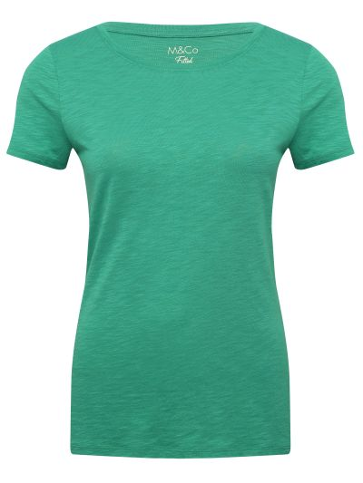 Mandco TOP SS FITTED CREW PLAIN