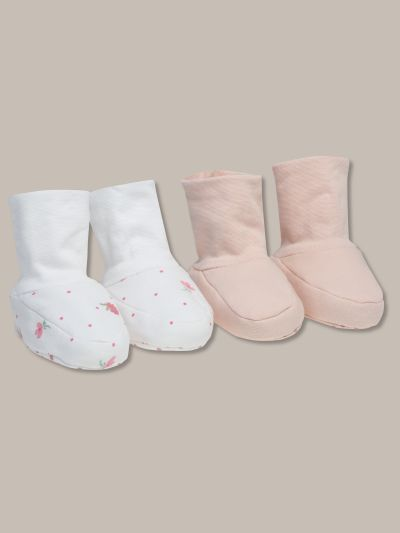 Mandco 2PK DITSY FLORAL BOOTIES