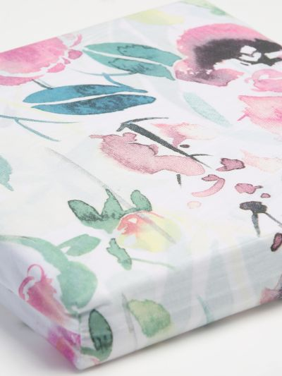 Mandco PAINTED FLORAL CR DUVET S