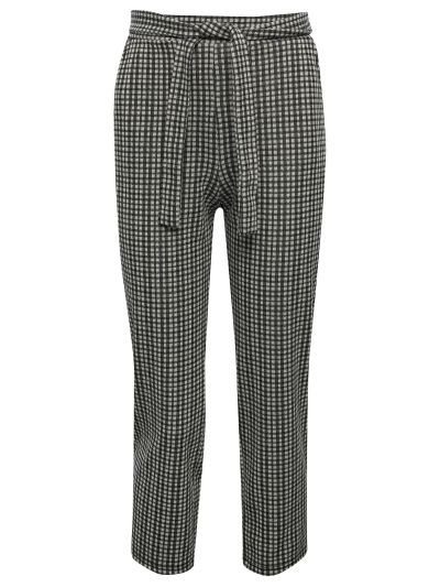 Mandco TROUSER PAPERBAG CHECK